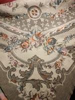Gyönyörű antik vászon asztalterítő