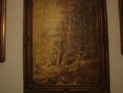Eredeti:Tihanyi János Lajos festmény, nagy méretű.