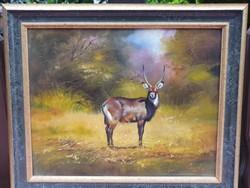 Csiszár József vadászfestmény