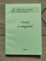 Hunok és magyarok tanulmánykötet