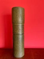 Iparművészeti retro jelzett kerámia váza   33 cm