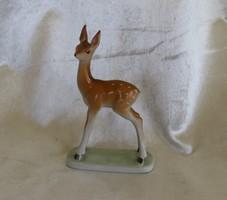 Hollóháza- Őzike Hollóházi antik porcelán