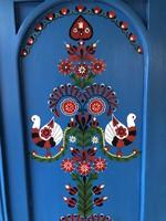 XX.század eleji kézi festésű bútor együttes