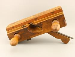Ritka régi asztalos kézi gyalu, Asztalos régi eszköz