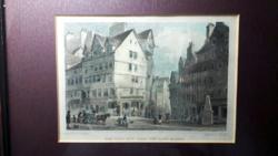 JELZETT,ANTIK METSZET,1840-ES ÉVEK