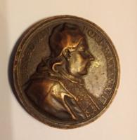 19. századi bronz érem