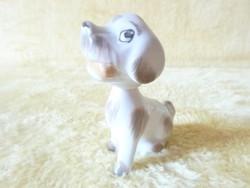 Bólogatós porcelán kutya .
