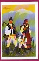 *E - 0034 - - - Irredenta (reprint) képeslap - Külhoni népviselet,  Csík-Háromszéki