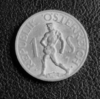 Osztrák 1 schilling 1957