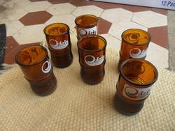 6 db Oázis retro ital pohár