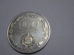 100 Ft-os ezüst emlékérem, / Felszabadulás 25. évfordulója / 100 Forint ezüst emlékérem