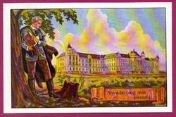*E - 0028 - - - Irredenta (reprint) képeslap - Csíkszereda, Róm. Kat. gimnázium