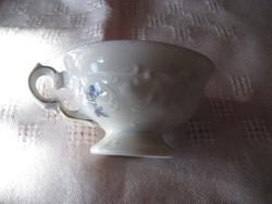 KPM  mokkás  csésze  ,restaurálni kell