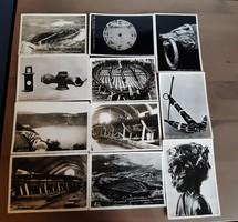 11 darabos olasz régészeti, művészeti témájú képeslap sorozat (hajó feltárás)