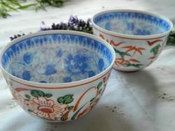 Nagasaki Japán finom porcelán teás csésze 2 db