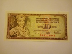 Unc  10  Dínár 1978 Jugoszlávia   !