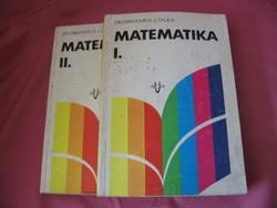 Obádovics: Matematika I- II kötet