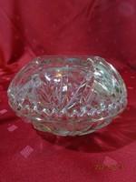 Üveg bonbonier, a legnagyobb átmérője 11,5 cm.