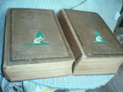 Antik  orvosi könyv 2 kötet