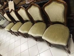 Barokk székek 5 db