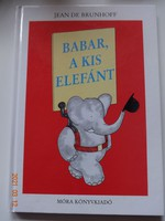 Jean de Brunhoff: Babar, a kis elefánt - régi mesekönyv a szerző rajzaival, Bálint Ágnes fordítása