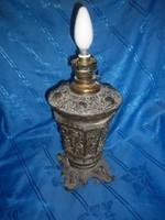 Antik asztali elektromos lámpa petróleum lámpa