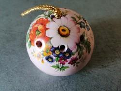 Porcelán illatosító gömb, potpourri tartó