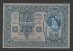 1000 korona 1902.  EF+!!  Bélyegzés nélküli!!  GYÖNYÖRŰ!!  RITKA!!