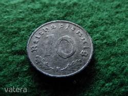 1946 F cink német 10 pfennig - Reichspfennig nagyon RITKA !!! (HW2-25)