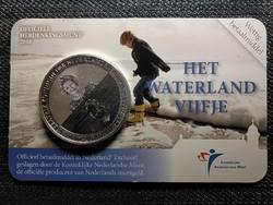 Hollandia Waterland ezüstözött 5 Euro 2010 (id48285)