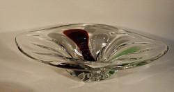 Cseh üvegtál
