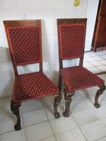 Antik Kozma Lajos ihletésű art deco székek