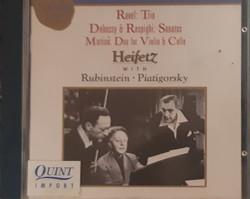 HEIFETZ, RUBINSTEIN, PIATIGORSKY      CD