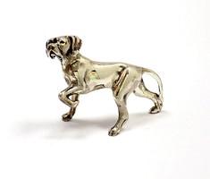 Ezüst vizsla miniatűr figura (ZAL-Ag89870)