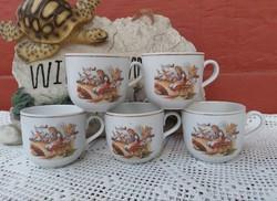 Mesefigurás Hamupipőke hamupipőkés román csészék csésze  bögrék bögre nosztalgia darabok