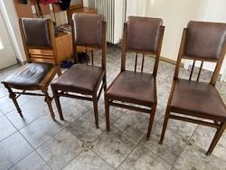 Antik bőr székek