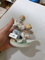Szovjet porcelán figura