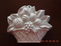Antik mázas virág sütőforma
