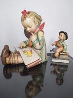 Nagymèretű Hummel TMK1 Book Worm, könyvtámasz lányka