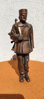 Munkàsőr szobor, Szocializmus,Lenin ,fém spialter-ón Bronz jellegű bronzirozott
