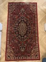 ANTIK: Szép mintájú perzsa szőnyeg, frissen tisztítva