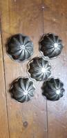 Antik sütőforma sütiforma 5db egyben