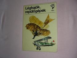 Kolibri könyv  Léghajók, repülők