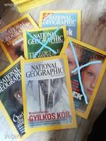 National Geographic újságok 2005 és 2006 évből ár / db