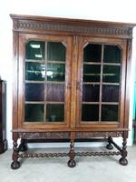 Neoreneszánsz könyves szekrény