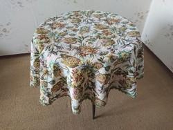 Újszerű, hibátlan, antik hatású elegáns terítő, asztalterítő