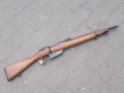 Olasz Carcano karabély, puska hatástalanítva