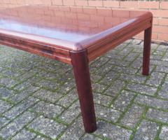 Mid Century Danish tömör rózsafa asztal