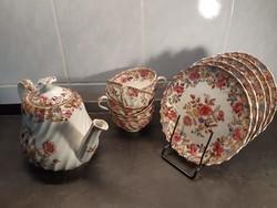 Copeland Angol Teáskészlet English Pottery RN 159276