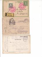 Három darab RITKA tábori lap az I világháborúból.